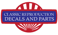 Classic Reproduction Decals and Parts